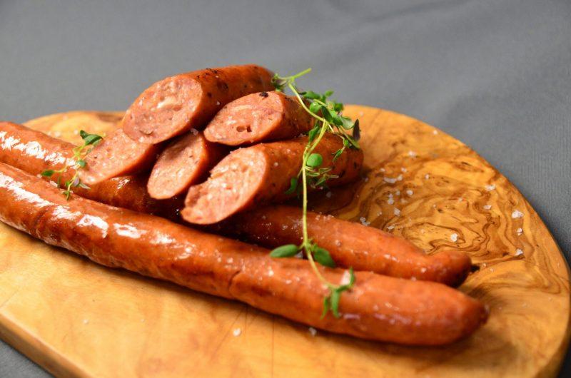 Hjemmelavede Öxneholm Delöx med ost, bacon og cayennepeber