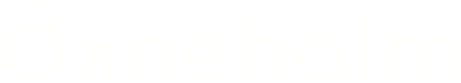 oxneholm_logo_hvid